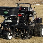 Lawn maintenance equipment of Meehan's Turf Care in Hagerstown, MD
