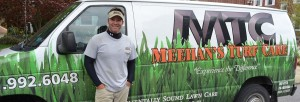 Sean Meehan of Meehans Turf Care in Hagerstown, MD