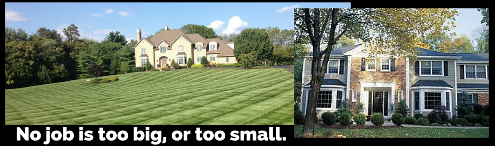 Lawn care for homes of all sizes in the Hagerstown, MD area.